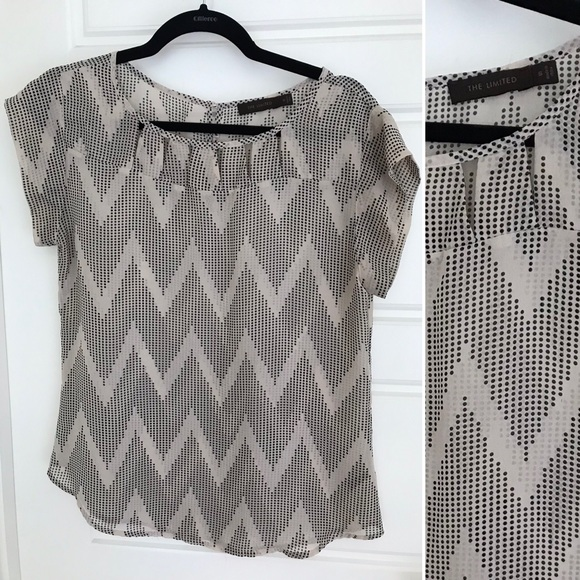 The Limited Tops - Patterned Blouse